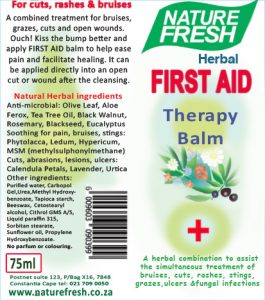 First Aid label 2
