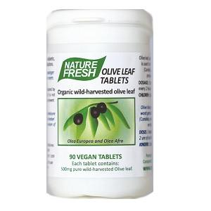 Nature Fresh Olive Leaf tablets