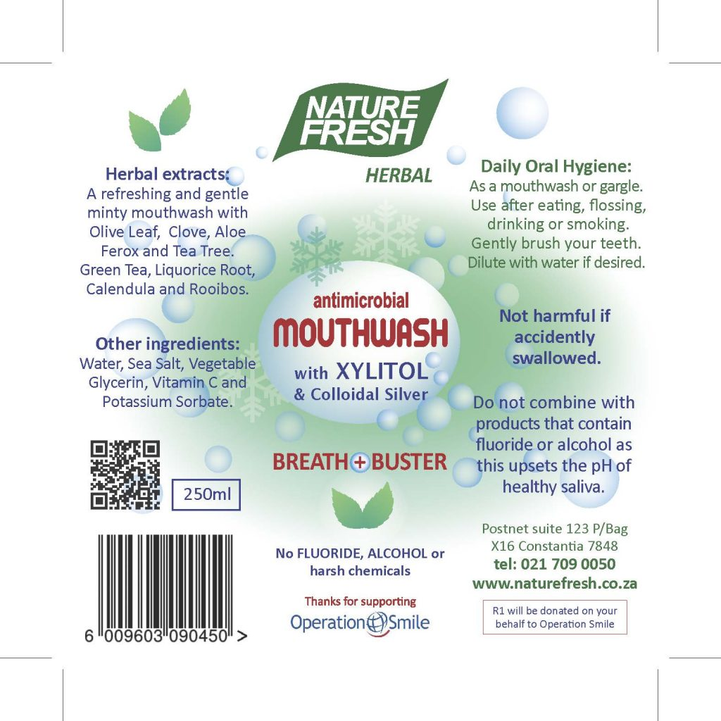 Anti-microbial Mouthwash
