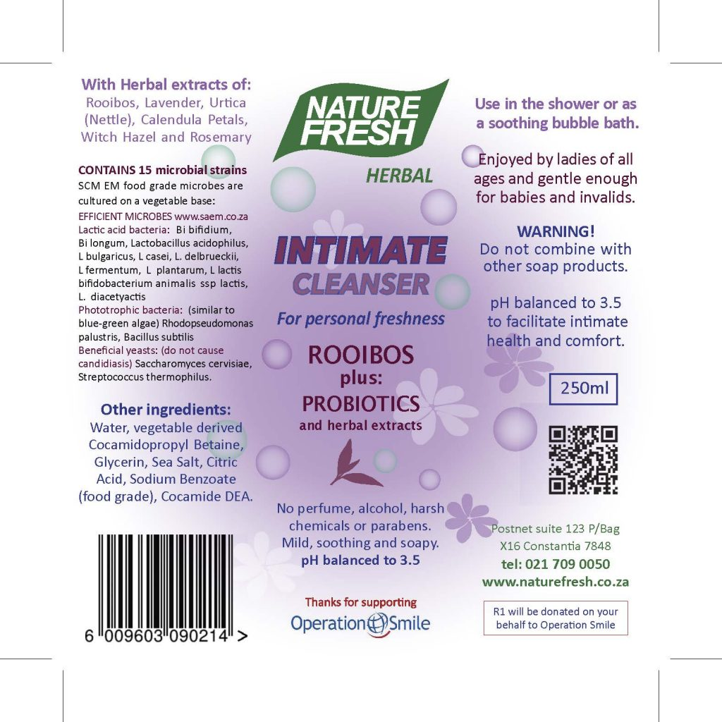 Intimate Cleanser Rooibos