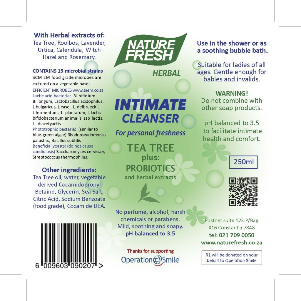 Intimate Cleanser Tea Trea