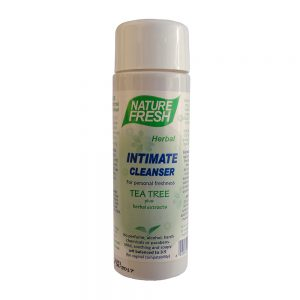NF 016 INTIMATE CLEANSER : TEA TREE: 250ml bottle