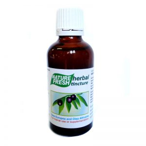 NF 038 OLIVE LEAF TINCTURE: 50ml tincture high potency 40%