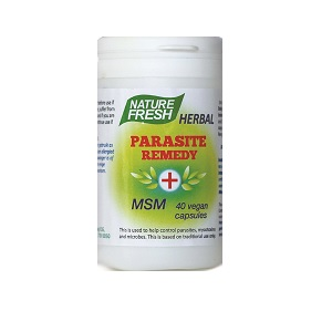 Nature Fresh Parasite Remedy with MSM capsules