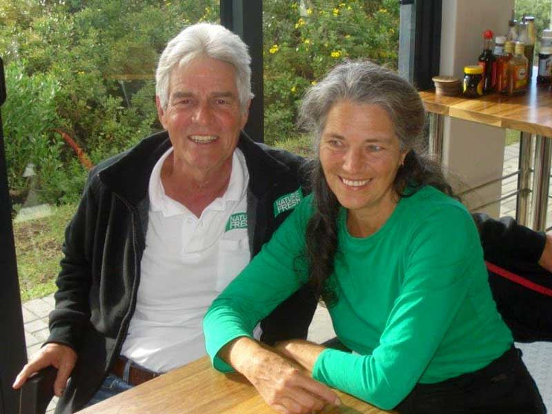 Jim and Sue brainchilds behind their health product range