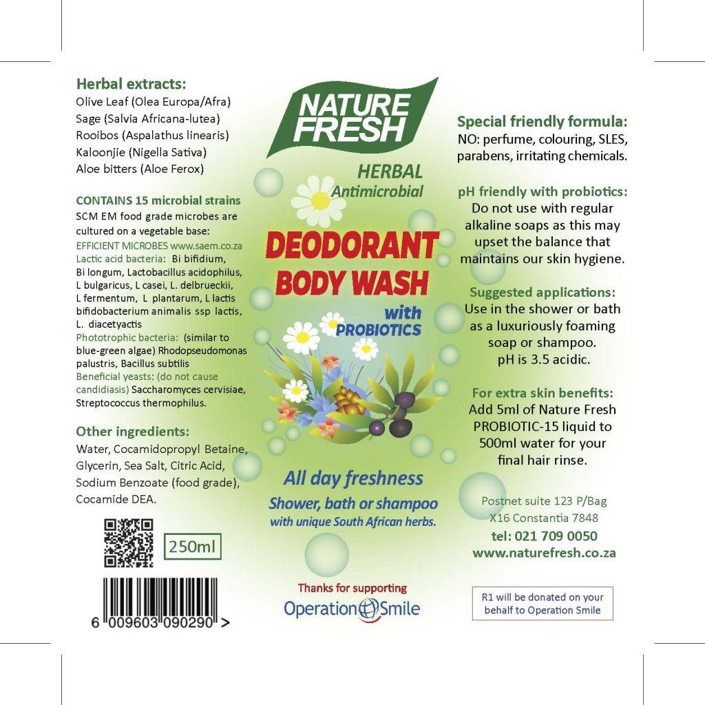Deodorant Bodywash