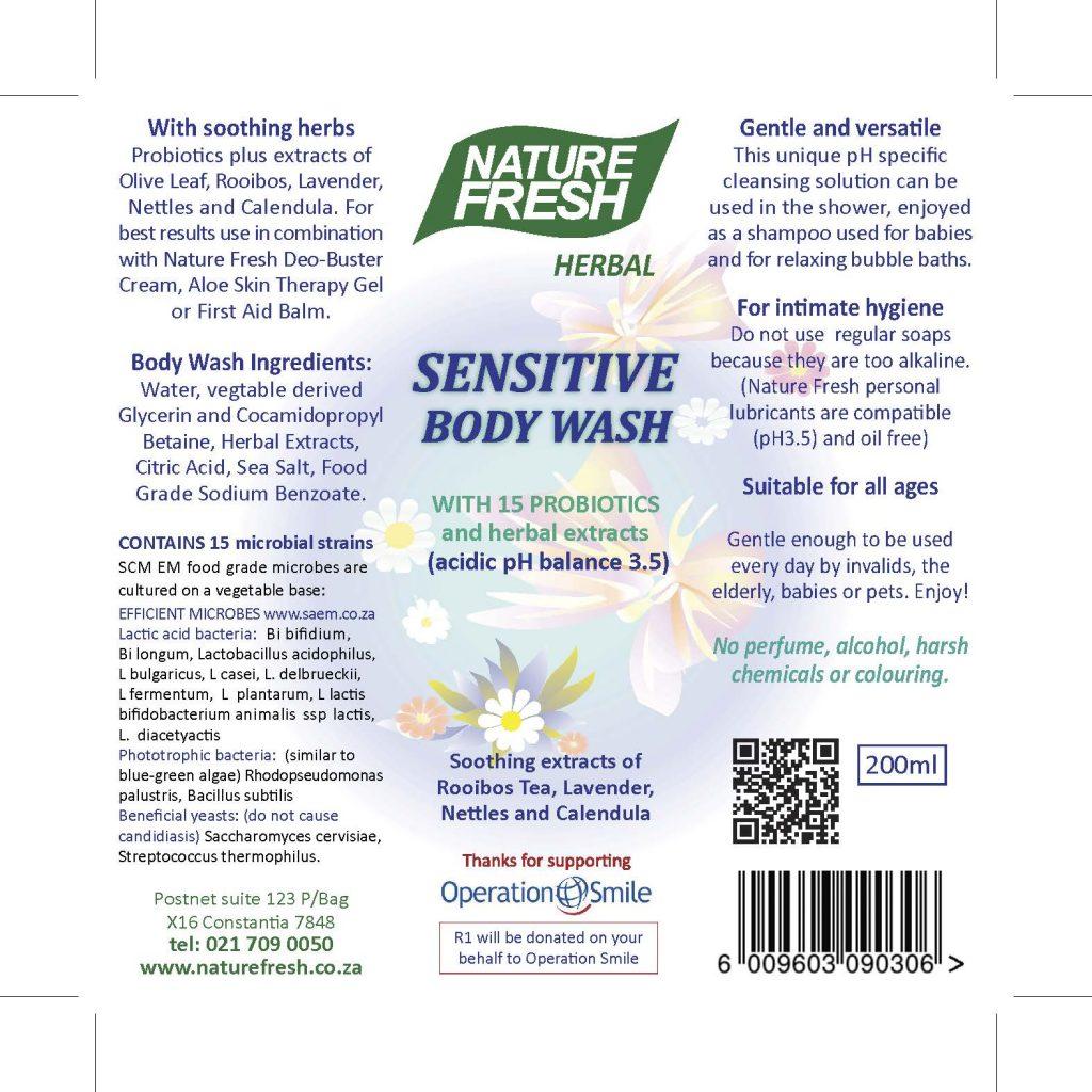 Sensitive Bodywash
