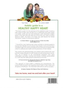 "Back Cover to a ""Happy Healthy Heart"""