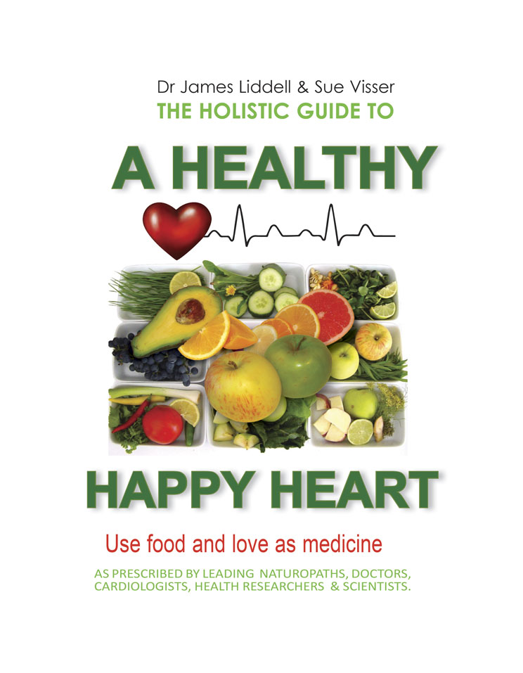 """Front Cover: """"A Healthy Happy Heart"""""""